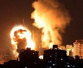 Δεύτερη νύχτα κόλασης στη λωρίδα της Γάζας μετά τις επιθέσεις με ρουκέτες στο Τελ Αβίβ