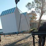 Νέα αποδυτήρια σε παραλίες από τα συνεργεία του Δήμου Χανίων