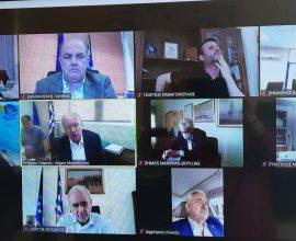 Συνάντηση Δημάρχου Διονύσου με Ν. Χαρδαλιά και Μ. Χρυσοχοίδη για θέματα Πολιτικής Προστασίας