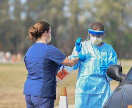 Drive through rapid tests και rapid tests στις Σέρρες και σε τοπικές κοινότητες