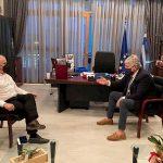 Συνάντηση Δημάρχου Μάνδρας-Ειδυλλίας με τον Υφυπουργό Περιβάλλοντος & Ενέργειας