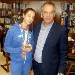 """Μιχαλάκης: """"Θερμά συγχαρητήρια στην Φένια Τζέλη"""""""