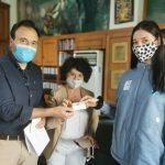 Συμβολικό δώρο του Δημάρχου Τρικκαίων για το ταξίδι της Φένιας Τζέλη προς το Τόκιο
