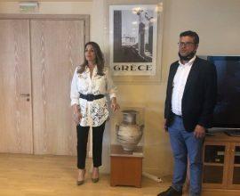 Με επιτυχία η συνάντηση του Δημάρχου Ανδραβίδας – Κυλλήνης με την Πρόεδρο του ΕΟΤ