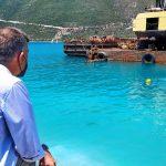 Π.Ε. Λευκάδας: Σε εντατικούς ρυθμούς η εξέλιξη των εργασιών για τον Προβλήτα στο Λιμάνι Βασιλικής