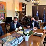 Σειρά επαφών με Κυβερνητικά στελέχη είχε στην Αθήνα ο Δήμαρχος Μαλεβιζίου