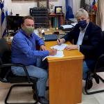 Συνεργασία Δήμου Μάνδρας-Ειδυλλίας-Ερυθρών-Οινόης με τον Δήμο Ασπροπύργου