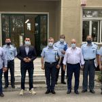 Συνάντηση του Δημάρχου Αγίων Αναργύρων- Καματερού με την ηγεσία της ΕΛ.ΑΣ.