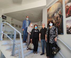 Επίσκεψη Περιφερειακής Διευθύντριας Α/θμιας και Β/θμιας Εκπαίδευσης Στ. Ελλάδας στον Δήμαρχο Καρπενησίου