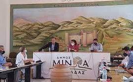 Την ολοκλήρωση των ανασκαφών ζήτησε από την Λ. Μενδώνη ο Δήμαρχος Μινώα Πεδιάδας