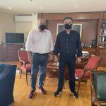 Συνάντηση εργασίας του Δημάρχου Ζωγράφου με τον Δήμαρχο Καισαριανής