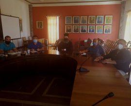 Συνάντηση Δημάρχου Πύργου με αντιπροσωπεία συλλόγου Οικιστών Σπιάντζας