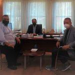 Συνάντηση του Δημάρχου Κατερίνης και του προέδρου του Λιμενικού Ταμείου Πιερίας με τον Υφυπουργό Υποδομών