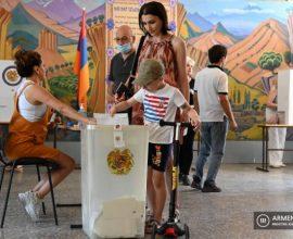 Αρμενία βουλευτικές εκλογές: Στο 49,4% η συμμετοχή- Ξεκίνησε η καταμέτρηση