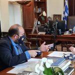 Συνάντηση Δημάρχου Κυθήρων με τον αν. Υπουργό Εσωτερικών