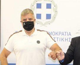 Συνάντηση Δήμαρχου Κυθήρων με τον Περιφερειάρχη Αττικής