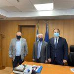 Συναντήσεις Δημάρχου Ελευσίνας στα Υπουργεία για την προώθηση θεμάτων της Ελευσίνας και της Μαγούλας