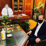 Συνάντηση Δημάρχου Ραφήνας Πικερμίου με τον αρχηγό της ΕΛ.ΑΣ