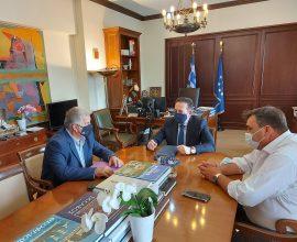 ΣΠΑΠ: Συνάντηση Σιώμου με τον αν. Υπουργό Εσωτερικών