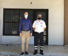 Συνάντηση Δημάρχου Μουζακίου με τον Δ/ντη ΕΚΑΒ Θεσσαλίας για δημιουργία τομέα ΕΚΑΒ στη πόλη