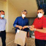 Δήμαρχος Τρίπολης: «Εικόνες με συμβολική σημασία για τους μαθητές μας»