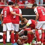 Σοκ στο EURO- Κατέρρευσε ο Δανός Έρικσεν – Μάχη να κρατηθεί ζωντανός