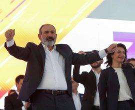 Αρμενία Εκλογές: Καθαρή νίκη Πασινιάν- Προηγείται με 58%