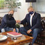 Περιφέρεια Αττικής: Συνάντηση Πατούλη με τον μεγάλο Έλληνα συνθέτη Σταύρο Ξαρχάκο