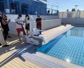 Δήμος Ναυπλιέων: Αναβατόριο ΑμεΑ απέκτησε το Ολυμπιακό Κολυμβητήριο Ναυπλίου