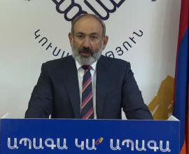 Νικόλ Πασινιάν: «Ο λαός της Αρμενίας έκανε μια δεύτερη επανάσταση»