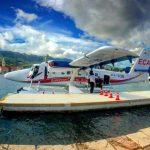 Τα υδροπλάνα φτάνουν στα πέντε λιμάνια της Εύβοιας