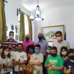 Επίσκεψη μαθητών της Δ'1 τάξης του Δημοτικού Σχολείου Αγ. Μαρίνας στον Δήμαρχο Λέρου