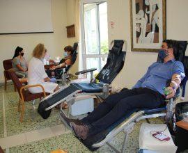 Εθελοντική αιμοδοσία από τον Δήμο Χανίων με αφορμή την Παγκόσμια Ημέρα Εθελοντή Αιμοδότη