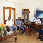 Συνάντηση Δημάρχου Χανίων με την Ένωση Προσωπικού Λιμενικού Σώματος Δυτικής Κρήτης
