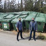 Νέοι κάδοι απορριμμάτων στον Δήμο Ζωγράφου