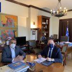 Δήμαρχος Τρίπολης: «Με όλες μας τις δυνάμεις εξασφαλίζουμε έργα για την Τρίπολη και τα χωριά μας»