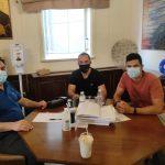 Συνάντηση Δημάρχου Πύργου με τον σύλλογο Νέων Καταραχίου