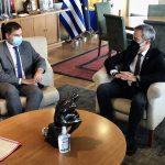Συνάντηση του Δημάρχου Θεσσαλονίκης με τον Υπουργό Τουρισμού
