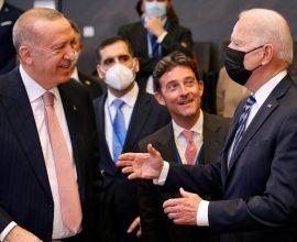 Ερντογάν: «Παραγωγική και ειλικρινή» η συνάντηση με τον Μπάιντεν