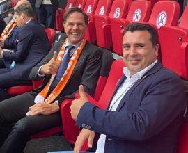 Ποιες Πρέσπες;- Ζάεφ «Δίνω την ισχυρή μου υποστήριξη στην εθνική ομάδα ποδοσφαίρου της Μακεδονίας»