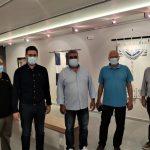 Εντυπωσίασε η έκθεση «Τέχνη = Επανάσταση» που εγκαινιάστηκε στην Δημοτική Πινακοθήκη Μαλεβιζίου