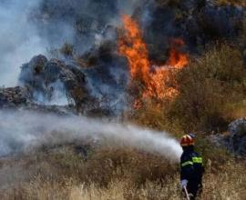 Πυρκαγιά στην Ερμιονίδα Αργολίδας – Δύο κατοικίες έχουν υποστεί ζημιές