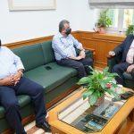 Συνάντηση Περιφερειάρχη Κρήτης με τον Πρόεδρο του ΕΚΑΒ