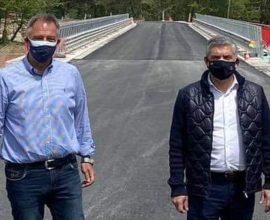Ασφαλτόστρωση της οδού Βλάχα-Βροντερό από την Περιφέρεια Θεσσαλίας