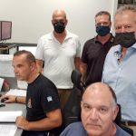 ΠΔΕ: Επίσκεψη Μπονάνου στο Κέντρο Επιχειρήσεων της Πυροσβεστικής