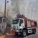 Άμεση και αποτελεσματική επέμβαση του ΣΠΑΠ στην πυρκαγιά που ξέσπασε στη Σταμάτα και στη Ροδόπολη
