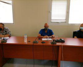 Έκτακτη Συνεδρίαση ΣΟΠΠ για την αντιμετώπιση του παρατεταμένου καύσωνα  υπό τον Αντιπεριφερειάρχη Αχαΐας