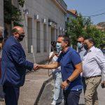 Συνάντηση Τσίπρα με τον Δήμαρχο Δυτικής Λέσβου