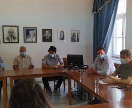 Σύσκεψη Χρυσοχοΐδη με τον Δήμαρχο Ιητών και εκπροσώπους των τοπικών αρχών