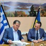 Σημαντική συμφωνία υπέγραψαν Δήμος Λίμνης Πλαστήρα και Ουκρανική πρεσβεία